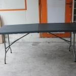 โต๊ะอเนกประสงค์พับได้ ลายไม้ KOMMET HDPE รุ่น HDT-180M
