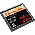 SanDisk Extreme Pro CF (160Mb/s - 1067X) - 64GB