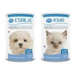 นมผง สำหรับสุนัขและแมว PetAg กระป๋องล่ะ 340กรัม