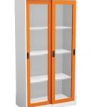 ตู้บานเลื่อนสูงแบบกระจก CLK-4