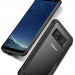 เคสกันกระแทก iPAKY LEKOO Series Silicone Frame Galaxy S8 Plus