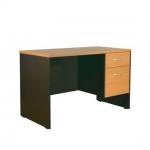 โต๊ะทำงาน 1.20 ม. 2 ลิ้นชัก MDK-1202