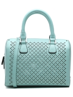 กระเป๋าถือ/สะพายข้างสีเขียว ทรงหมอน