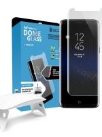 ฟิล์มกระจกใสเต็มจอ Whitestone Dome Glass Galaxy S8 Complete Set