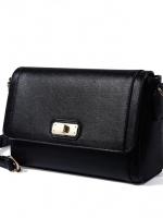 กระเป๋าสะพายสีดำ