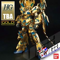 ◖ 10/18 ◗ HG UNICORN GUNDAM 03 PHENEX DES.MODE (NARRATIVE VER) (GOLD COATING)