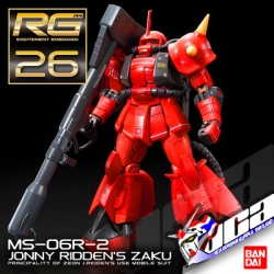 RG MS-06R-2 ZAKU II (JOHNNY RIDDEN CUSTOM)
