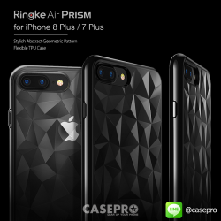 เคสใสกันกระแทก Rearth Ringke Air Prism iPhone 8 Plus / 7 Plus