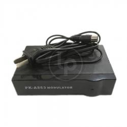 กล่องแปลงสัญญาณทีวี AV - RF MODULATOR