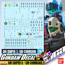 GD118 | MG GM SNIPER II / GM COMMAND