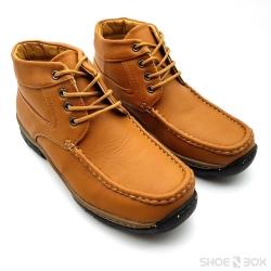 รองเท้าบูทสั้นPB705 - Brown