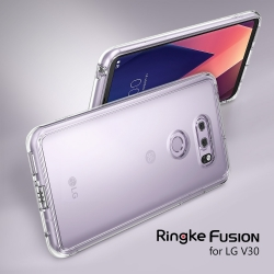 เคสใสกันกระแทก Rearth Ringke Fusion LG V30