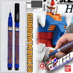 GM02 Gundam Marker (Gray) ปากกาตัดเสน สีเทา