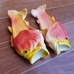 รองเท้าแตะปลา สีส้ม [Size30-41]