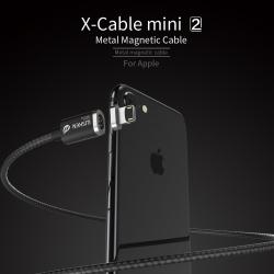 สายชาร์จแม่เหล็ก WSKEN X-Cable Mini 2 Metal Magnetic Data Cable & O Series Mini Magnetic Adapter & Adapter Organizer