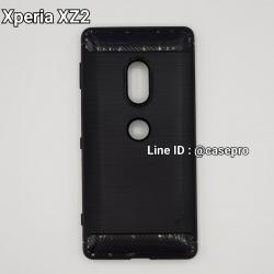 เคสกันกระแทก iPAKY LAKO Series Brushed Silicone Xperia XZ2