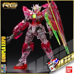 ★ EXPO LIMITED ★ RG GUNDAM 00 QANT (TRANS-AM CLEAR)