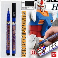 GM01 Gundam Marker (Black) ปากกาตัดเสน สีดำ