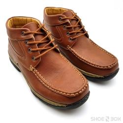 รองเท้าบูทสั้นPB705 - D.Brown