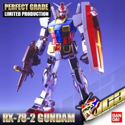 ★ LIMITED ★ PG RX-78-2 GUNDAM (CHROME PLATED VER)