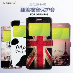 เคสฝาพับ MY COLORS Flip Cover Series OPPO R9S
