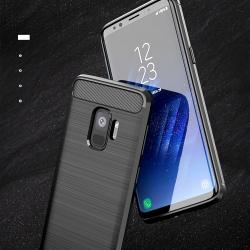 เคสกันกระแทก iPAKY LAKO Series Brushed Silicone Galaxy S9+ / S9 Plus