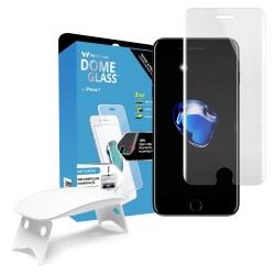 ฟิล์มกระจกใสเต็มจอ Whitestone Dome Glass iPhone 8 / 7 Complete Set
