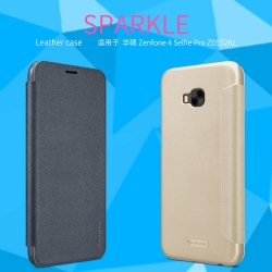 เคสฝาพับ NILLKIN Sparkle Leather Case Zenfone 4 Selfie Pro (ZD552KL)