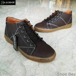 รองเท้าบูทชายPBshoe [PB704] - D.Brown