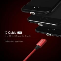 สายชาร์จแม่เหล็ก WSKEN X-Cable Lite 1 Metal Magnetic Data Cable