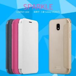 เคสฝาพับ NILLKIN Sparkle Leather Case Galaxy J5 PRO (2017) / J530