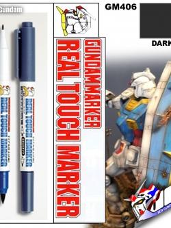 GM406 Gundam Real Touch Marker (Dark Gray) สีเทา 3