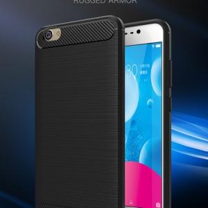 เคสซิลิโคนกันกระแทก Brushed Silicone Vivo V5 / V5s / V5 Lite