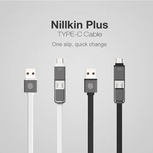 NILLKIN Plus Type-C สายชาร์จ 2-in-1