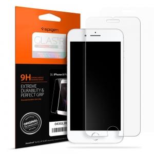 ฟิล์มกระจกนิรภัย SPIGEN Screen Protector GLAS.tR SLIM HD iPhone 8 Plus / 7 Plus (ไม่เต็มหน้าจอ)