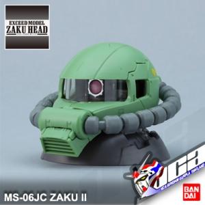 EXM MS-06JC ZAKU II HEAD
