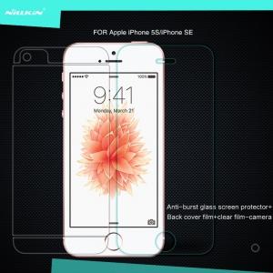 กระจกนิรภัย NILLKIN 9H+ iPhone 5 / 5S / SE แถมฟิล์มติดด้านหลัง