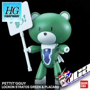 HG PETIT'GGUY LOCKON STRATOS GREEN & PLACARD