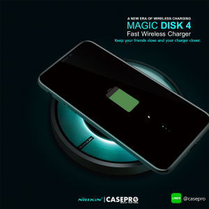 ที่ชาร์จไร้สาย NILLKIN Magic Disk 4 Wireless Charger (Fast Charge Edition)