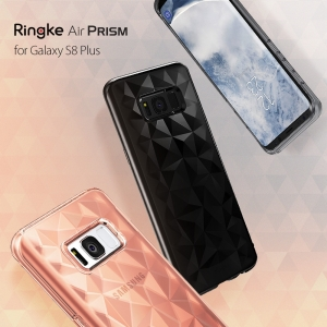 เคสใสกันกระแทก Rearth Ringke Air Prism Galaxy S8 Plus