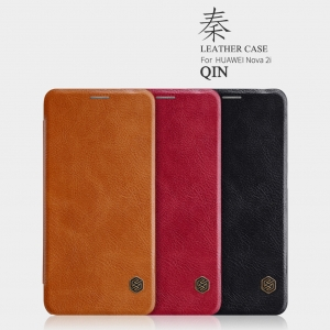 เคสฝาพับ NILLKIN Qin Leather Case Huawei Nova 2i
