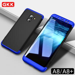 เคส GKK กันกระแทก 360 องศา แบบประกอบ 3 ส่วน หัว-กลาง-ท้าย Galaxy A8 2018