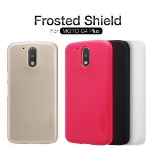 เคส NILLKIN Super Frosted Shield MOTO G4 Plus แถมฟิล์มติดหน้าจอ