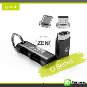 อุปกรณ์เสริมสายชาร์จแม่เหล็ก WSKEN X-Cable Mini 2 & WSKEN O Series Mini Magnetic Adapter & Adapter Organizer