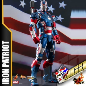 HOT TOYS 1/6 IRON PATRIOT (DIECAST) เหล็กหล่อ