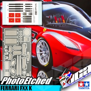 1/24 SCALE FXX K PHOTO ETCHED PARTS SET