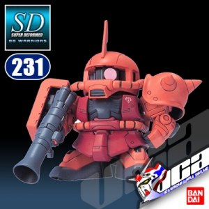 SD BB231 MS-06S ZAKU II