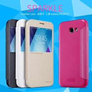 เคสฝาพับ NILLKIN Sparkle Leather Case Galaxy A5 (2017)