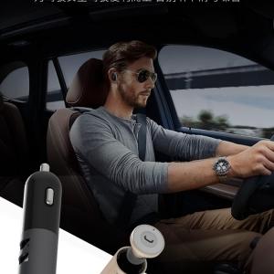 ที่ชาร์จในรถและหูฟังบลูทูธ REMAX Car Bluetooth Headset RB-T11C
