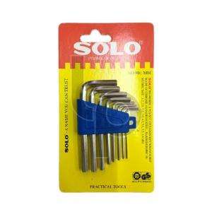 ไขควงชุด 6 เหลี่ยม 8 ชิ้น SOLO